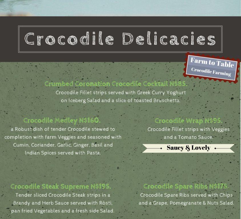 Crocodile Delicacies