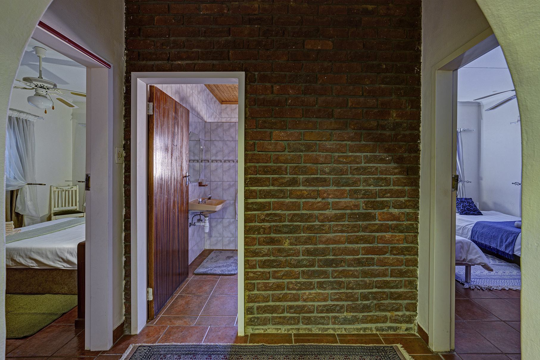 Two Family Rooms sharing a Bathroom- Self-Catering